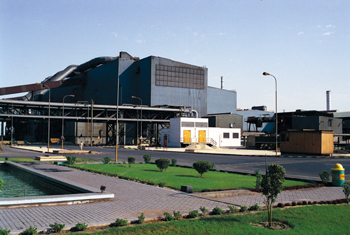The Saudi Iron and Steel Company (Hadeed) plant