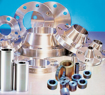 Centrifugally cast hollow bars and flanges