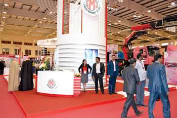 The stall of Ahmed Mansoor Al A'ali