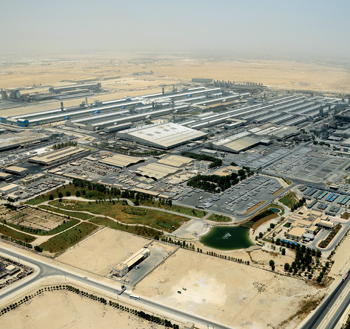 An overview of Alba's production facilities