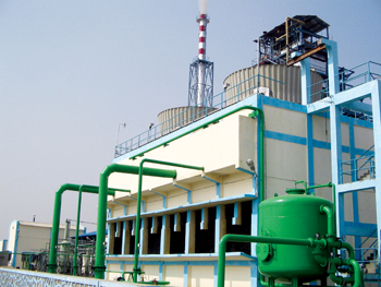 A biomass power generation plant of Kalpa-Taru in Rajasthan, India