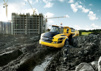 The bushing has been developed for Volvo Construction Equipment