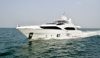 Gulf Craft's Majesty 122 yacht