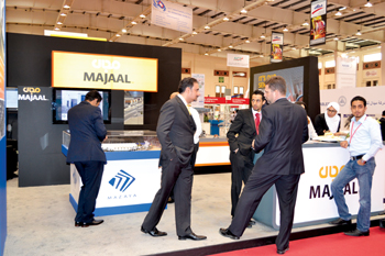 Majaal, one of the regular exhibitors,
