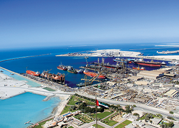 Drydocks World's Dubai facilities