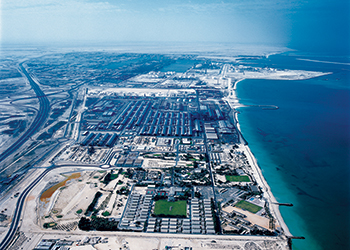 A bird's eye view of EGA Jebel Ali's production facilities