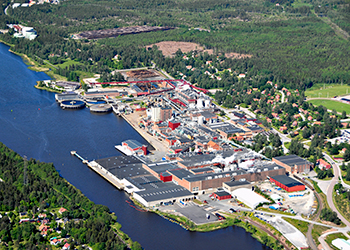 The group's Hallsta Paper Mill in Sweden