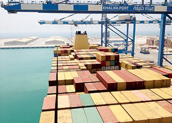 Khalifa Port is pivotal to Kizad's progress