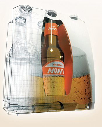 3D allows packaging visualisation and rapid transition to manufacturing