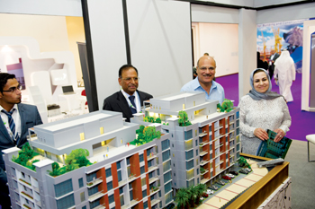 A stall at last year's Gulf Property Show