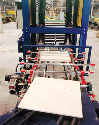 A production unit of RAK Ceramics