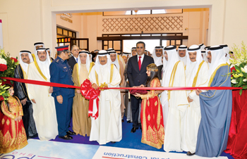 HRH Prince Khalifa opening the three shows