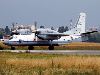 An AN-32 aircraft of the Indian Air Force