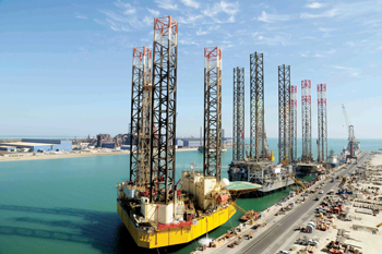 Asry has high-profile clients for its rig repair sevices