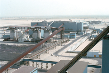 The Hadeed plant in Jubail, Saudi Arabia