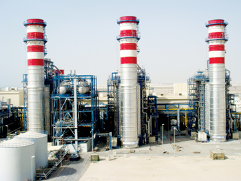 Power plants constituted a main area of interest at the show