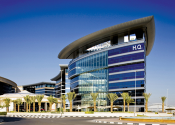Dafza (headquarters pictured) is expanding its facilities including warehousing