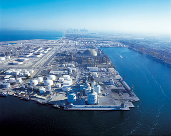 EGA has two dedicated berths and storage facilities at Jebel Ali Port, Dubai