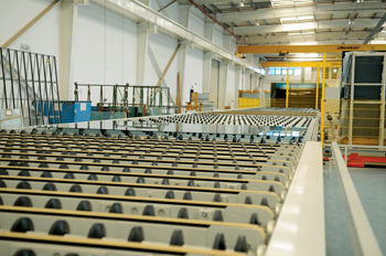 A coating line of Emirates Glass LLC