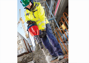 Hilti TE 1000-AVR breaker: best of the lot