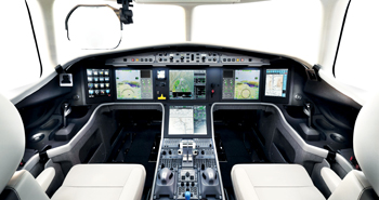 Honeywell's Primus Epic technologies were customised for the cockpit of Dassault's Falcon 5X