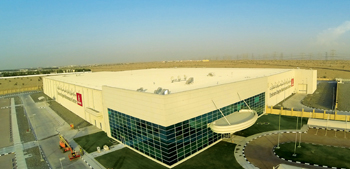 The Emirates Engine Maintenance Centre, where Kingspan supplied its solutions