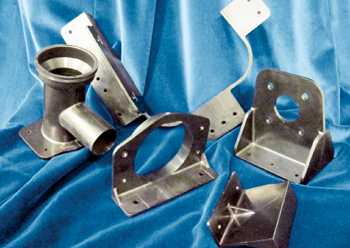 Denroy has invested in a manufacturing cell solely to produce metal-replacing Victrex PEEK brackets