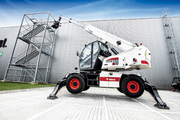 One of the new EVO rotary telehandler models