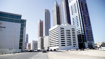 Business Bay Executive Towers in Dubai where Empower upgraded the capacity of its district cooling p
