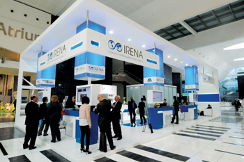 Irena held its fifth assembly session in Abu Dhabi last January