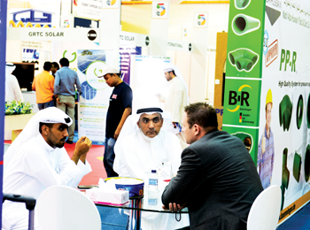 Visitors at last year's the Big 5 Kuwait