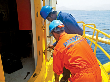 The company serves the offshore oil terminal market