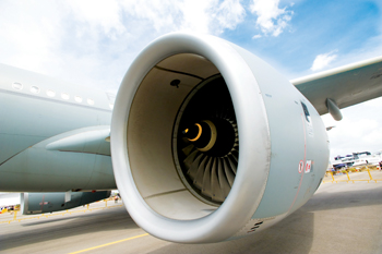 Aircraft with Trent 700 engine
