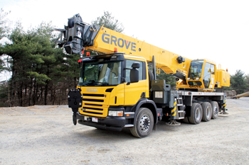 Grove is a major equipment brand in the kingdom