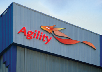 Agility is a prominent name in the regional logistics industry