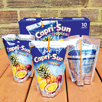 The Capri Sun brand did well