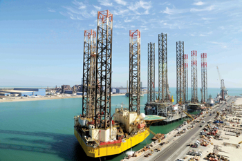 Asry is a specialist in rig repairs