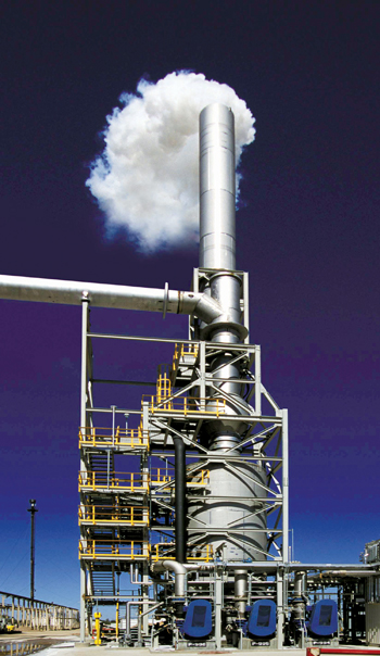DuPont's MECS DynaWave technology achieved stack outlet emissions down to less than 5 ppm