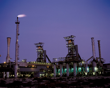 Steel producer Hadeed's plant in Saudi Arabia