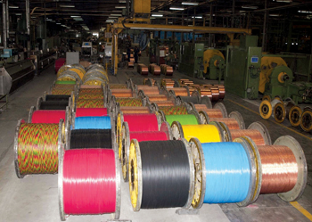 A production facility of Gulf Cable and Electrical Industries Company