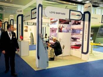 A pavilion at a previous Dimdex event