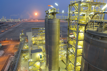 Orpic's polypropylene plant in Sohar