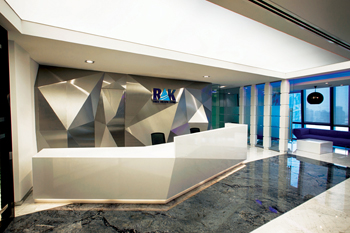 Boulevard Business Centre reception area