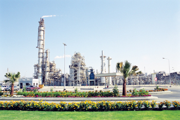 The Safco plant in  Saudi Arabia