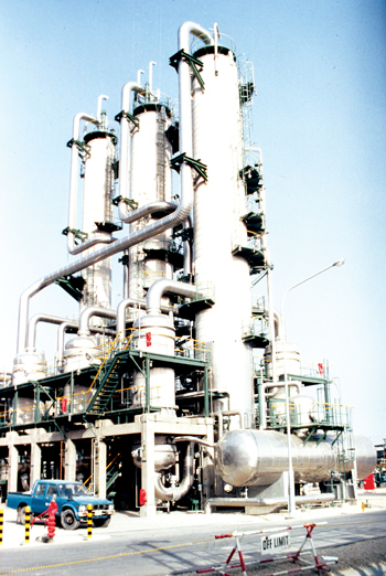 A production facility of Sharq, an affiliate of Sabic