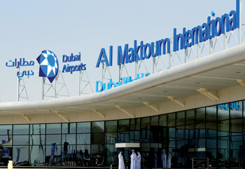 AI Maktoum International Airport, housed in Dubai South, gives the summit a new dimension