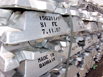 Ingots from Alba: The smelter is proud its products are of the highest purity