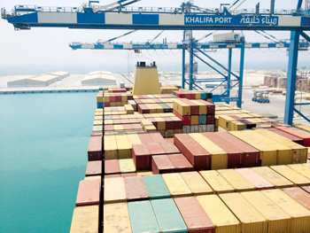 Khalifa Port makes big strides