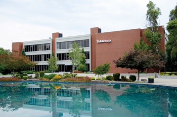 Tektronix's headquarters in Beaverton, Oregon (USA)