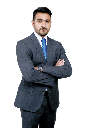 Mohammed Khalid, the new manager for customer services and marketing operations